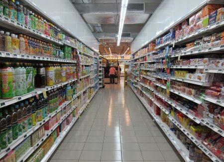 Produkte im Laden