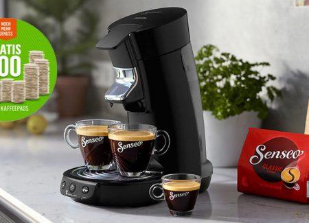 Senseo Kaffeepads gratis