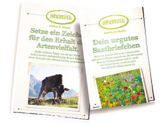 gratis Heumilch Wildblumenmischung