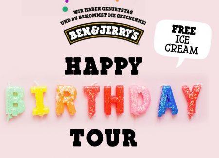 Ben & Jerry's Geburtstagstour