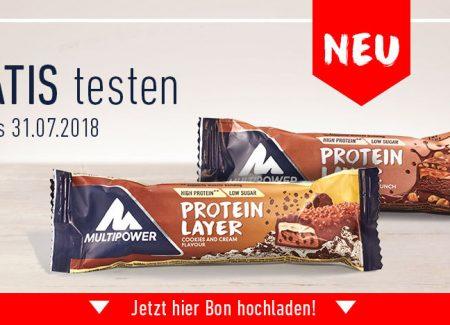 gratis Protein Riegel